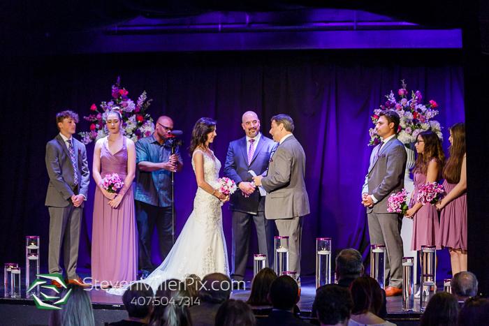Downtown Orlando Intimate Wedding at The Mezz