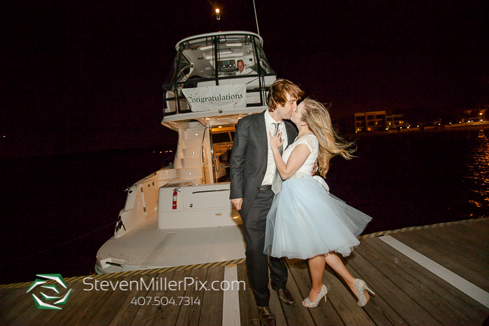 Surprise Engagement Proposal at Walt Disney World Grand One Yacht