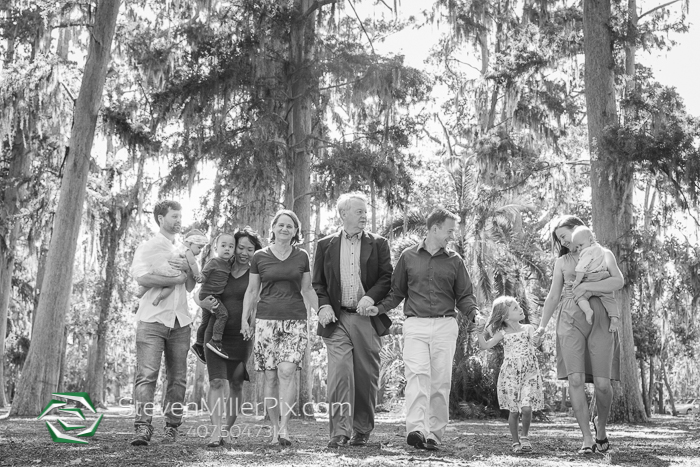 Family Photography at Kraft Azalea Gardens