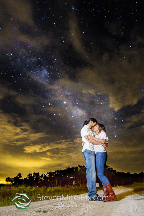 Night Sky Wedding Photographers Florida