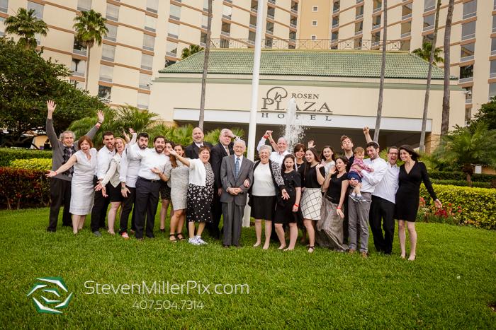 Rosen Plaza Hotel Family Portraits Photographer