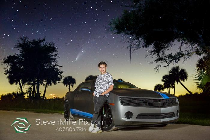 Comet NEOWISE Night Senior Portraits Photographer