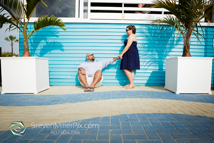 Cocoa Beach Engagement Photos St Augustine Wedding Photographers
