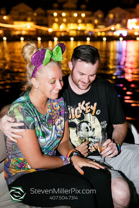 Disney Surprise Proposal Photographers | Epcot Center Weddings