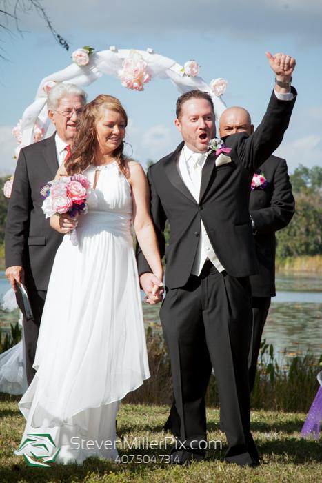 Red Bug Lake Park Wedding Photographers | Orlando Backyard Weddings