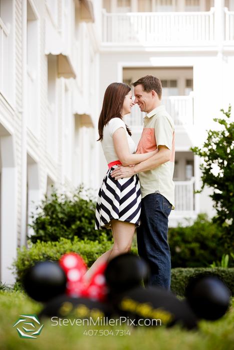 Disney Epcot Engagement Photos   Orlando Wedding Photographers