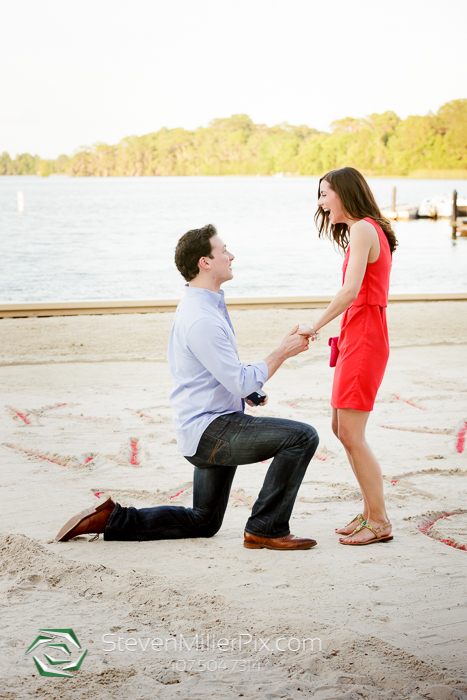 Disney Surprise Proposals | Orlando Proposal Photographers Michael