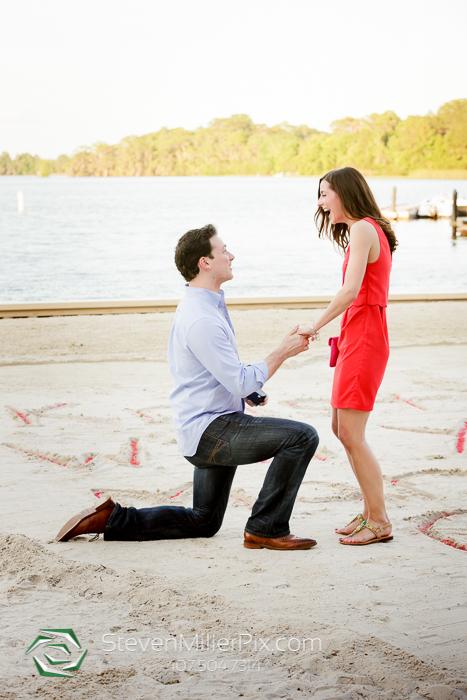 Disney Surprise Proposals | Orlando Proposal Photographers Michael