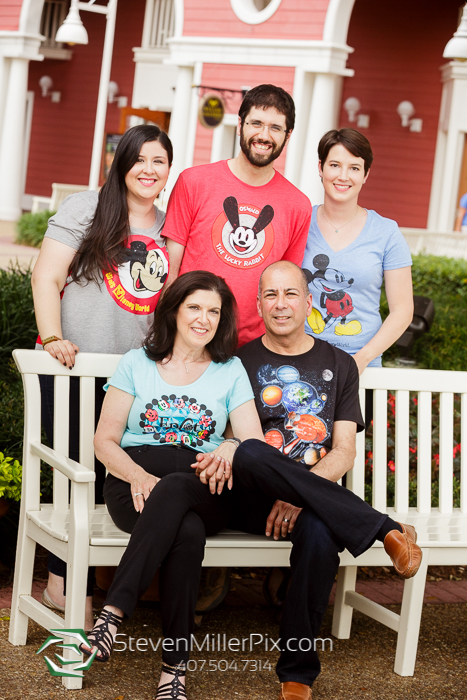 Disney Boardwalk Family Portrait Photos | Steven Miller Photography