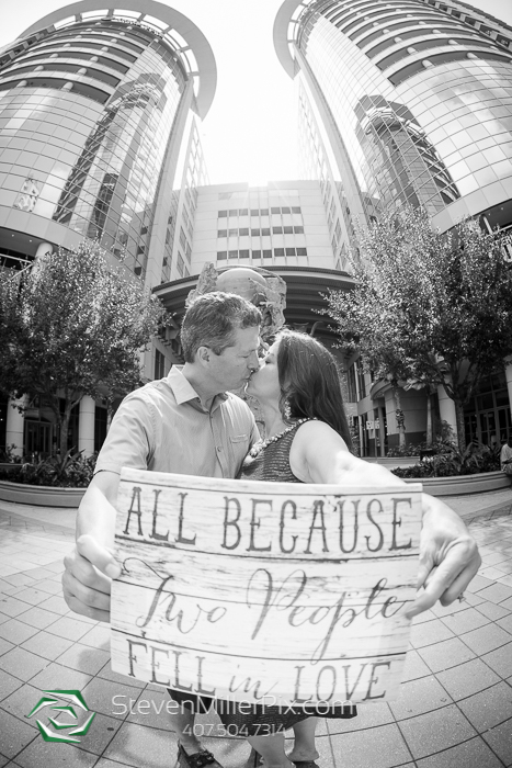 Rosen Shingle Creek Resort Weddings | Downtown Orlando Engagement Session