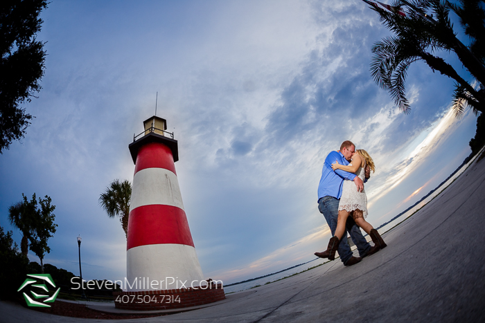 Mount Dora Gilbert Park Engagement Photographer