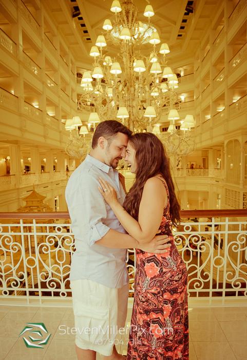 Disney Proposals at Grand Floridian Resort Orlando