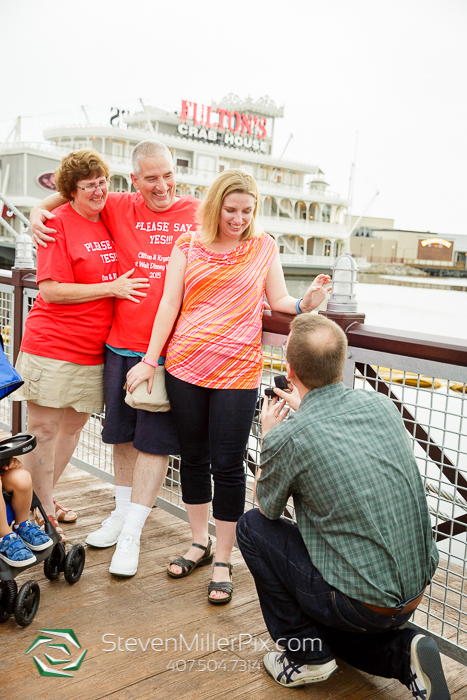 Surprise Orlando Proposal at Downtown Disney