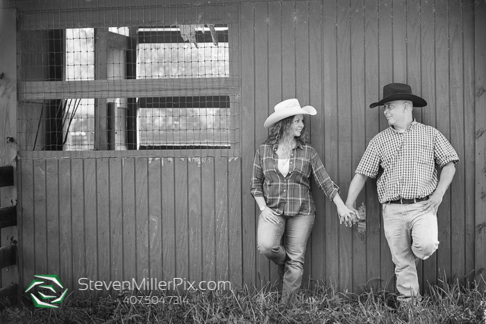 Sanford Horse Farm Engagement Photographer