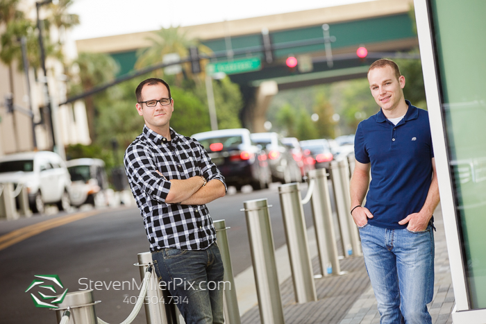 LGBT Orlando Wedding Photographers Downtown