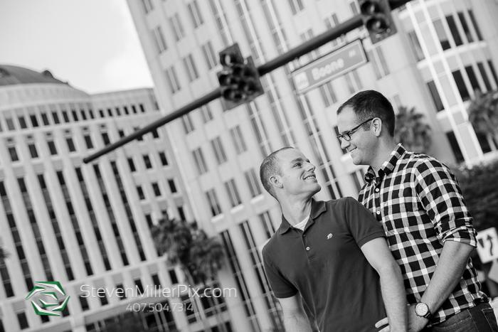 LGBT Orlando Wedding Photographers Downtown
