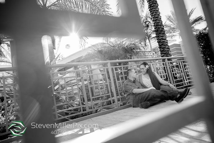 The Orlando Eye Engagement Wedding Photographer