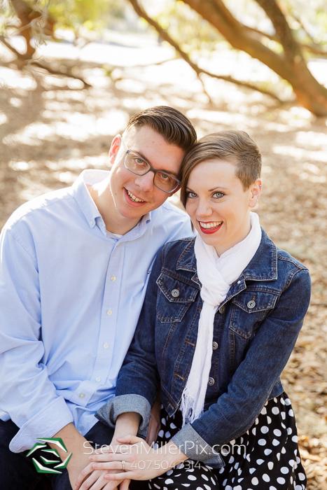Orlando Loch Haven Engagement Photos