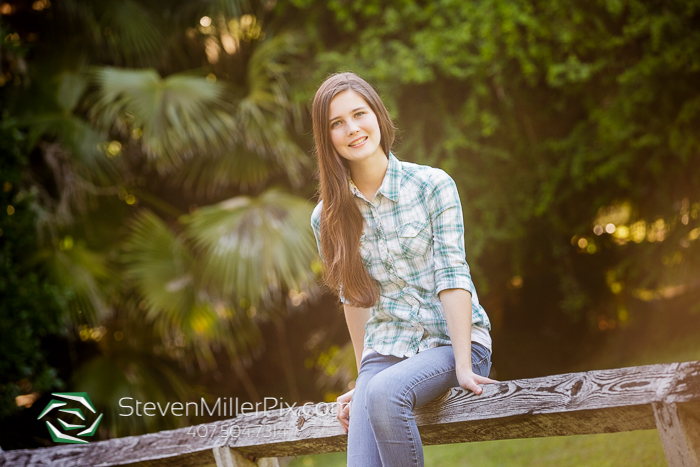 Winter Garden Senior Portraits Photographer