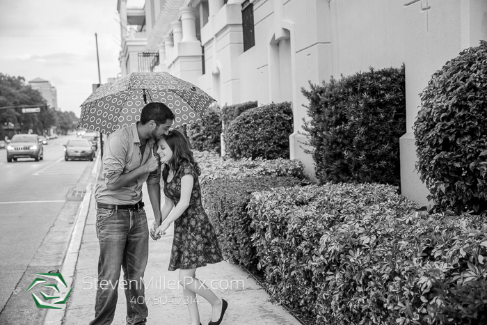 Orlando Downtown Engagement Photos
