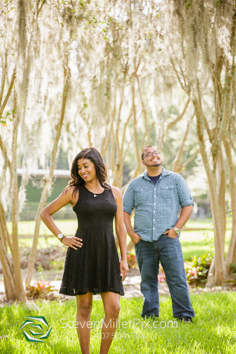 The Mayor Tree Orlando Engagement Photography