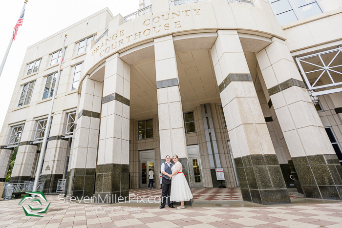 Downtown Orlando Courthouse Weddings LGBT