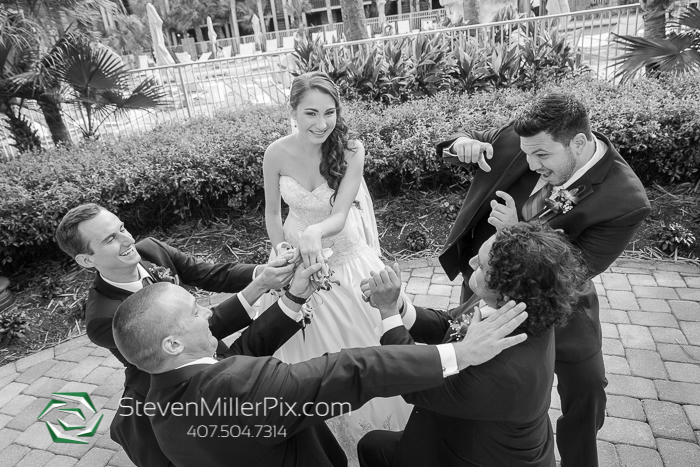 Doubletree Hilton Seaworld Wedding Photography Orlando