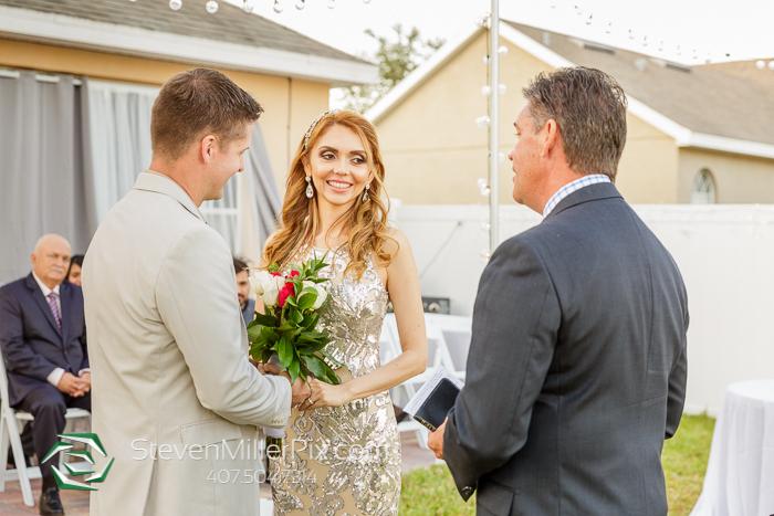 Orlando Intimate Backyard Wedding