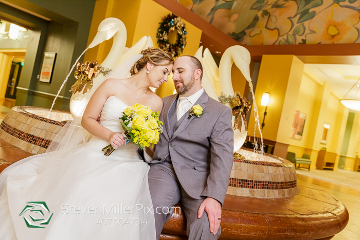 Disney Swan and Dolphin Wedding Photographer