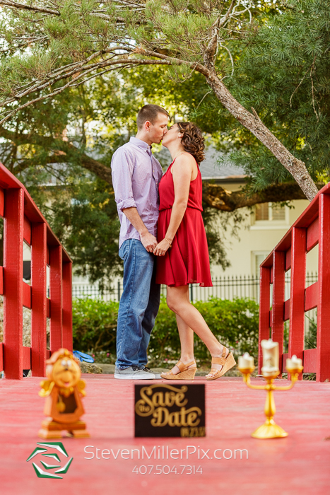 Orlando Downtown Engagement Photographers