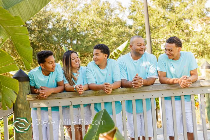 Kissimmee Florida Family Portrait Photographers Orlando