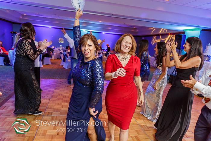New Years Eve Wedding Orlando Doubletree SeaWorld