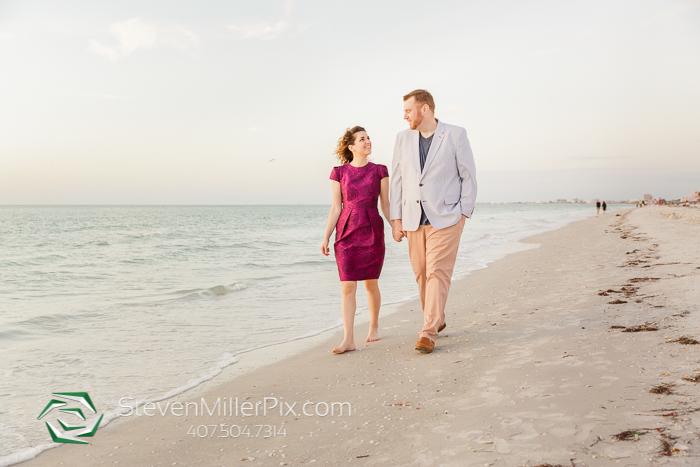 Pass-a-Grille Beach Florida Engagement Photos