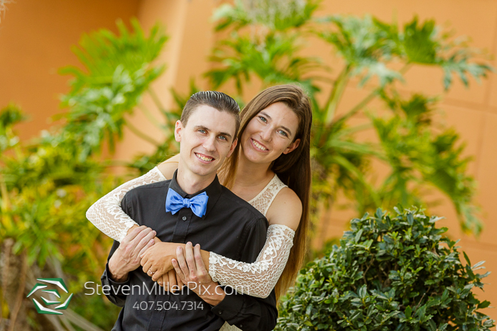 Engagement photo shoot in Winter Park