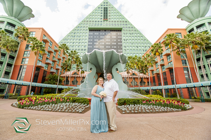 Orlando Intimate Weddings at Swan and Dolphin Resort