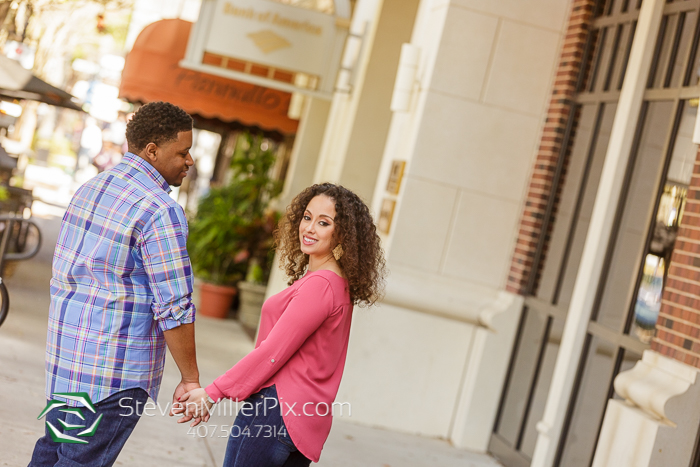 Winter Park Engagement Photos