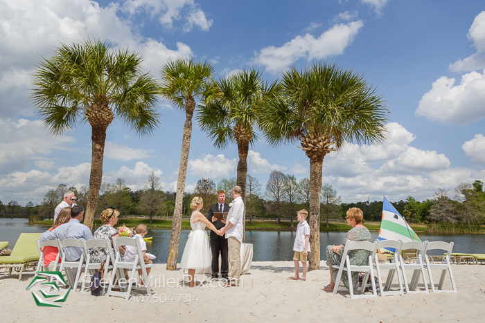 Intimate Outdoor Wedding at the Hyatt Regency Grand Cypress
