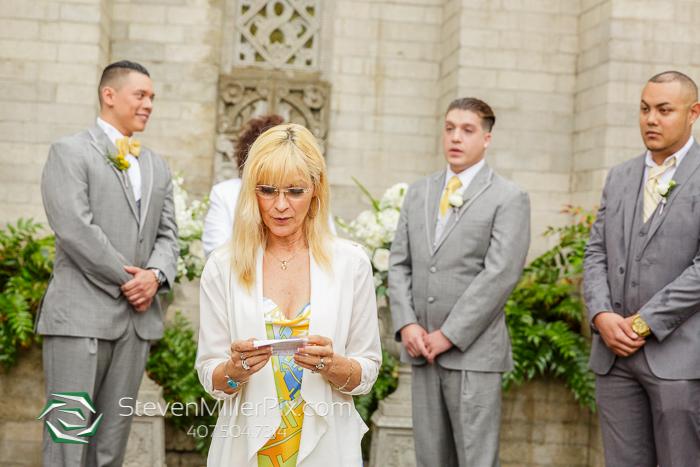 Intimate Same Sex Wedding at the Maitland Art Center