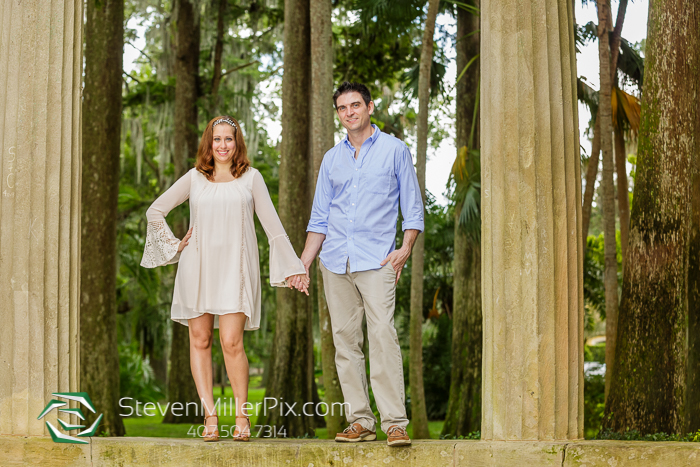 Engagement Photos At Kraft Azalea Garden