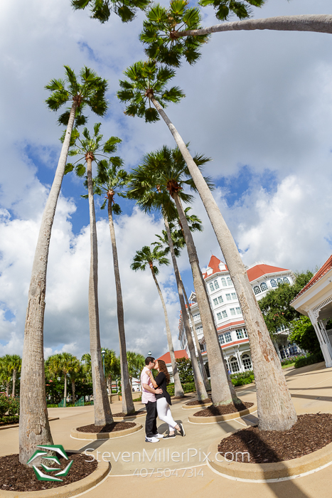 Engagement Photography at Disney's Grand Floridian Resort and Spa
