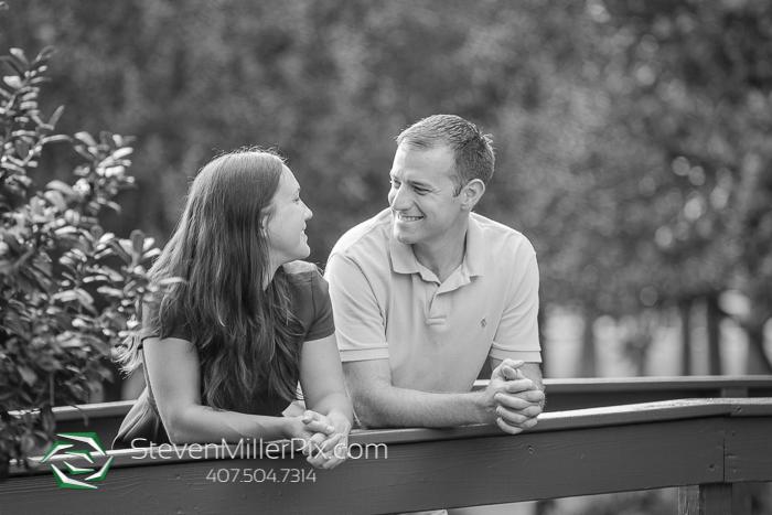 Engagement Photography at Lake Eola