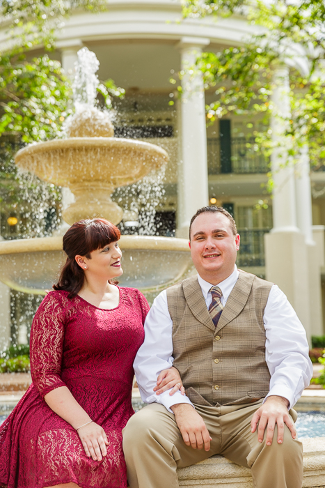 Port Orleans Disney Engagement Photos