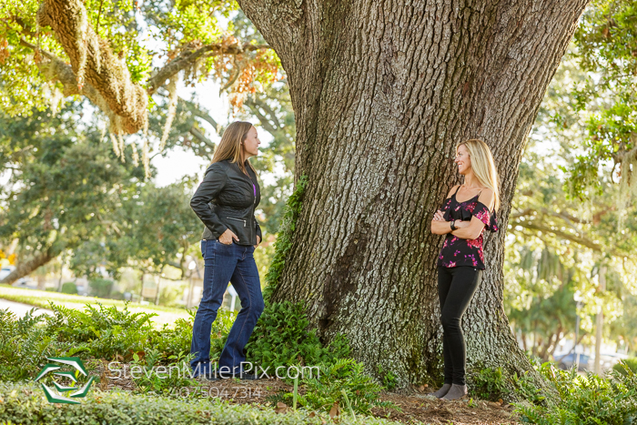 Ivanhoe Village Orlando Engagement Photos