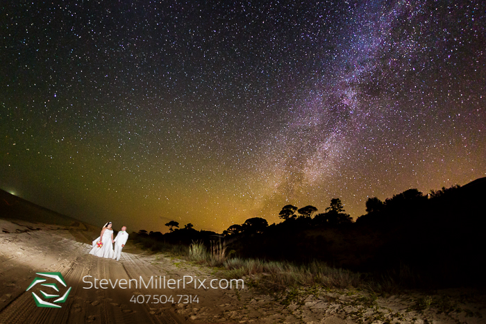 Mexico Beach Milky Way Weddings Steven Miller