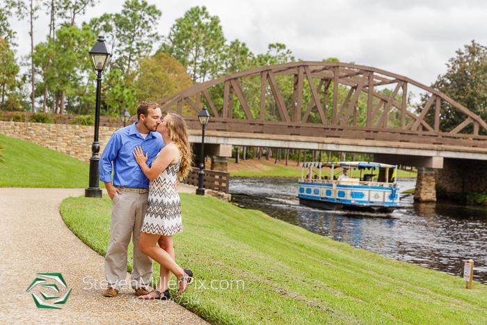 Engagement Photography at Disney's Port Orleans Resort