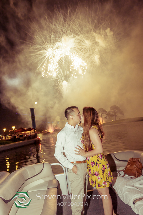 Disney Epcot Illuminations Surprise Proposal