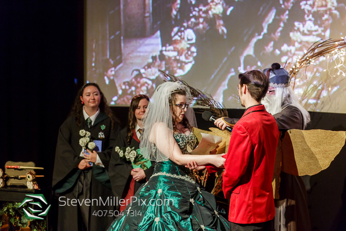 Harry Potter Themed Wedding at the Enzian Theater
