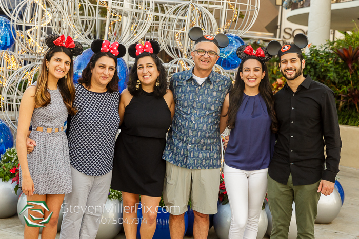 Disney Springs Family Portrait Photography