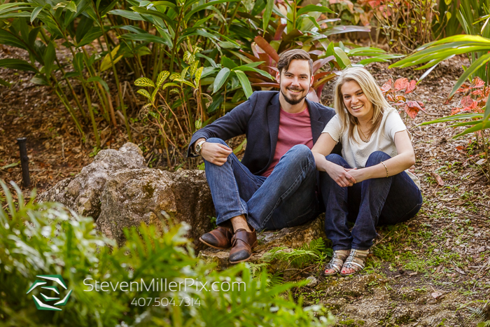 Florida Botanical Garden Engagement Photographers