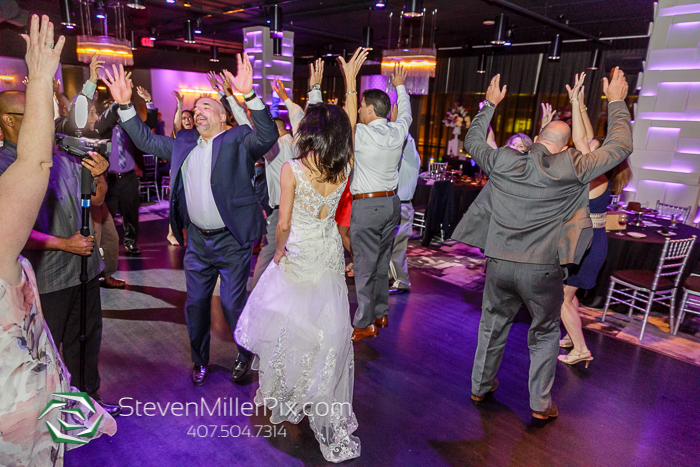Downtown Orlando Intimate Wedding at The Mezz